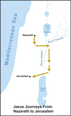 map of samaria in jesus time - Google Search