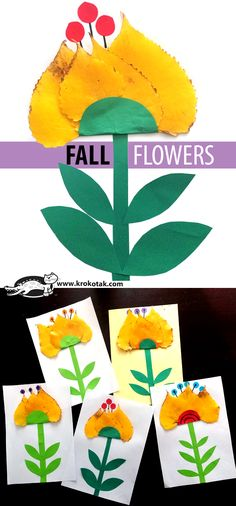 children activities, more than 2000 coloring pages Autumn Activities For Kids, Fun Crafts For Kids, Children Activities, Fall Arts And Crafts, Classroom Art Projects, Fall Projects, Autumn Art, Preschool Art, Nature Crafts