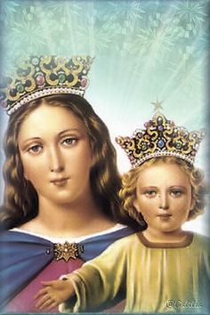 Blessed Is She, Blessed Mother Mary, Blessed Virgin Mary, Juan Bosco, Catholic Saints, Roman Catholic, Hail Holy Queen, Santa Maria, Mama Mary