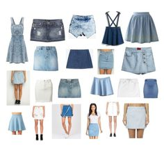"""""""Denim"""" by sophraddd on Polyvore featuring Wet Seal, Marc by Marc Jacobs, Zara, Chicwish, All About Eve, One Teaspoon, Stoosh and STELLA McCARTNEY"""