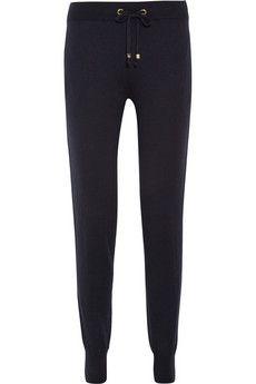 MICHAEL Michael Kors Drawstring knitted track pants | NET-A-PORTER