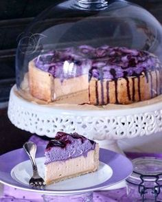 "Bleuets - Gâteau au fromage - Monika Triebenbacher - Sweet Crafts - Myrtilles – cheesecake "" Myrtilles – cheesecake The Effective Pictures We Offer You About tre - Blueberry Recipes, Blueberry Cheesecake, Cheesecake Recipes, Blueberry Cake, Easy Cookie Recipes, Healthy Dessert Recipes, Food Cakes, Bread Maker Recipes, Chocolate Recipes"