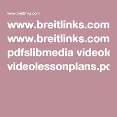 www.breitlinks.com pdfslibmedia videolessonplans.pdf