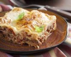 Lasagnes à la bolognaise facile Ingrédients