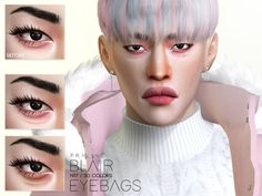 Eyebags in 30 colors. For all ages and genders. Found in TSR Category 'Sims 4 Female Skin Details' Skin Care Regimen, Skin Care Tips, Sims 4 Cc Skin, Sims Cc, Asian Eyes, Eye Makeup Art, The Sims4, Eye Serum, Skin Problems