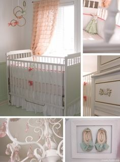 Vintage inspired nursery. #vintage #baby #nursery