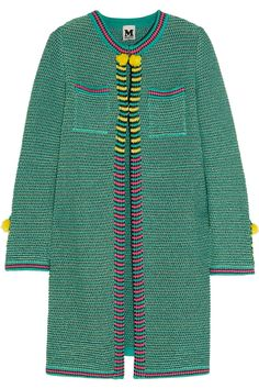 M Missoni | Crochet-knit cotton coat | NET-A-PORTER.COM