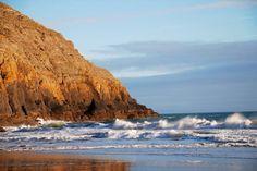 Evening swell on Porth Ceiriad Beach, Abersoch