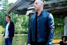Check out a first look pic of Vin Diesel and Paul Walker on the set of Fast & Furious 7. #FastAndFurious