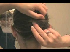 Easy French Twist Updo On Your Own Hair
