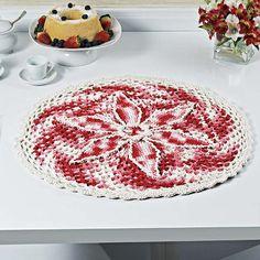 Centro de mesa floral matizado vermelho – Linha Cisne Multiarte