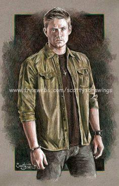Dean Winchester 2010 by scotty309.deviantart.com #dean-winchester #fan-art #supernatural
