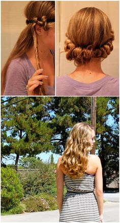 Use your Hippie Headbands to create beautiful No Heat Waves! Give it a try.