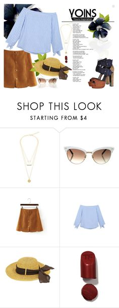 """""""Yoins"""" by gabyidc ❤ liked on Polyvore featuring Gucci, Tom Ford, Pierre Hardy, yoins, yoinscollection and loveyoins"""