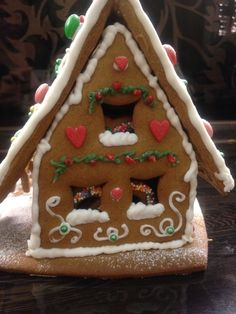 Gingerbread Christmas house! Believe in fairytales