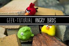 Needle Felting, un hobby por explorar: Geek-Tutorial: Angry Birds (por Brookelynn Morris)