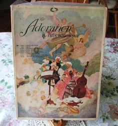 RARE Vintage 1926 Violin Sheet Music Adoration by Felix Borowski 10% Discount by BESTBUYONLINES, $10.00