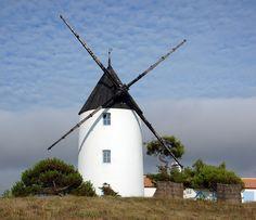 L'Ile de Nouirmoutier, la Vendee, France.