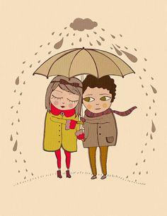 #rain #illustration