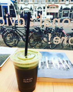 Monday  Flow @klaever_health & @stefanieklaver_nutrition #mondaymood #amsterdam #blissfuel #healthjuice ##dieharddetox #livethelittlethings #liveauthenic #livecolorfully