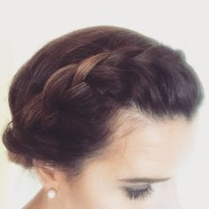 Braided updo for any occasion