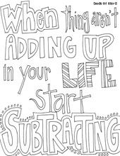 Great Posters To Use In The Classroom Or Have Students Color Them And Post Quote Coloring PagesFree