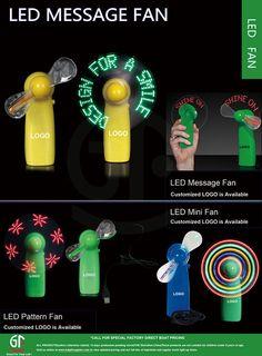Hot Sale Supplier China Flashing Led Message Mini Handheld Fan