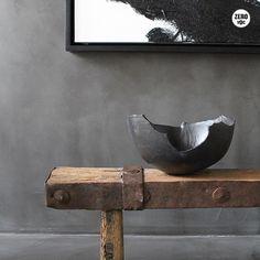 Wabi sabi wooden bench and sink Wabi Sabi, Interior Styling, Interior Decorating, Interior Design, Interior Architecture, Interior And Exterior, Ethno Design, Design Oriental, Interior Inspiration
