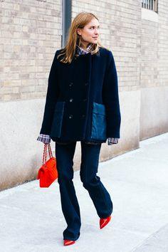 Street Looks at New York Fashion Week Fall/Winter 2015-2016 66