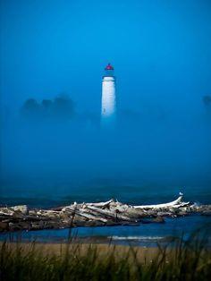 Chantry Island Lighthouse - Southampton, Ontario, Canada ,,,, home for me :)