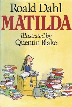 Best books for girls: Matilda by Roald Dahl #bestbooks #roalddahl #middlegradebooks