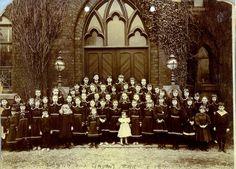 Photo of student body, Blackpool England, Roman Catholic, Child, Student, Community, Catholic, Boys, Kid, Children