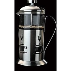 Ovente 9-cup Polished Aluminum Stove-top Espresso Maker with Mr. Coffee Milk Frother.