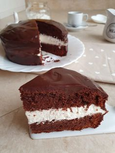 Torta kinder delice - Rosly a passion for pastry - - My Recipes, Sweet Recipes, Cooking Recipes, Menu Maker, Homemade Cookbook, Recipe Filing, Sweet Cakes, Something Sweet, What To Cook