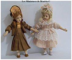 Bru et jumeau en miniature by Béatrice