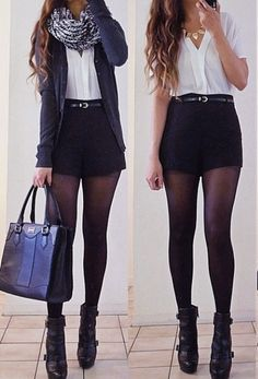 Best Outfit Styles For Women - Fashion Trends Mode Outfits, Short Outfits, Casual Outfits, Fashion Outfits, Womens Fashion, Fall Winter Outfits, Autumn Winter Fashion, Dress Winter, Fall Fashion