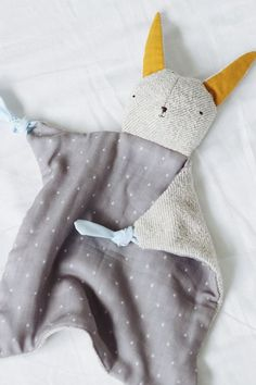Adorable snuggly soft toy for babies (from Bitte)