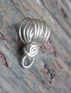 Handmade Sterling Silver Bail VI PurpleLily by PurpleLilyDesigns, $4.60