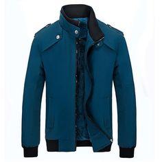 Mountainskin 2017 New Men's Winter Parkas Stand Collar Casual Warm Coats Mens Inside Fleece Outerwear Male Brand Jackets SA317