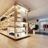 Interior de tienda APC en el Soho de Nueva York