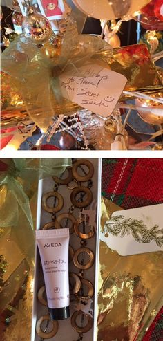 """Jana says, """"My gift sat patiently waiting in my tree till this morning after all the Christmas craziness calmed down, and I could relax and enjoy the moment. Thank you Secret Santa, I LOVE it!"""""""