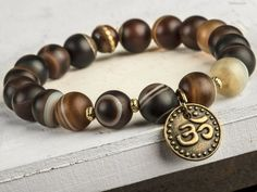 8 mm vert naturel Arbre Agate /& Happy Lucky Bouddha Tête Perles Stretch Bracelets