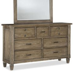Legacy Classic Furniture Brownstone Village 7 Drawer Dresser