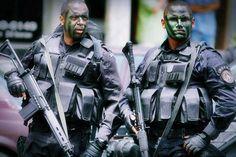 BOPE : Elite unit of the Military Police of Rio de Janeiro State, Brazil.