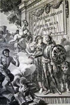 Dom Quixote, Pile Of Books, Satyr, British Museum, Book Illustration, Prints, Painting, Cgi, Madrid