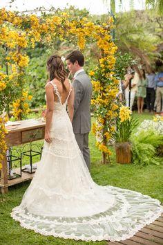 Pinterest: novedotres #casamento #campo