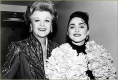 Angela Lansbury & Madonna