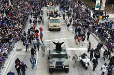 Ravens parade in Baltimore