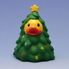 Christmas Tree Rubber Duck - I have too many Xmas duckies but I need this one!!