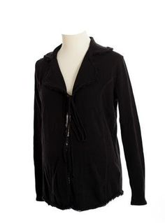 Lilo Maternity Tie Front Fringed Cardigan Black M by Lilo Maternity. $45.00. Made with the Best Quality Material with your child in mind.. Top Quality Children's Item.. Lilo Maternity knows how expectant women feel because our company was started and continues to be run by women who have gone through the pregnancy experience. As your body goes through changes, it becomes more difficult to find comfortable clothing without compromising your sense of style. It is for this ...